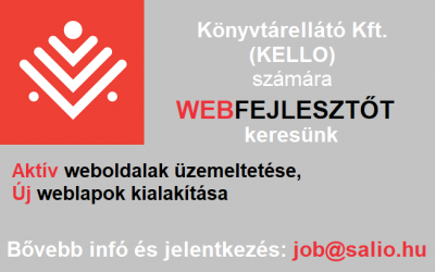 Webfejlesztő