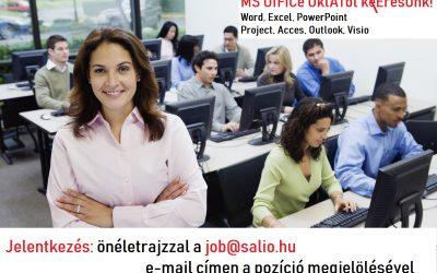 MICROSOFT OFFICE OKTATÓ (Országosan)